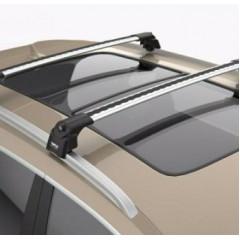 Багажник на интегрированные рейлинги Turtle Air-2 106 см (серебристый)