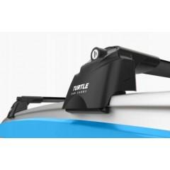 Багажник на интегрированные рейлинги Turtle Air-2 106 см (черный)